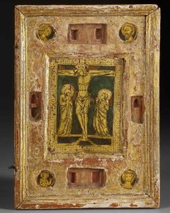 Right panel of a reliquary